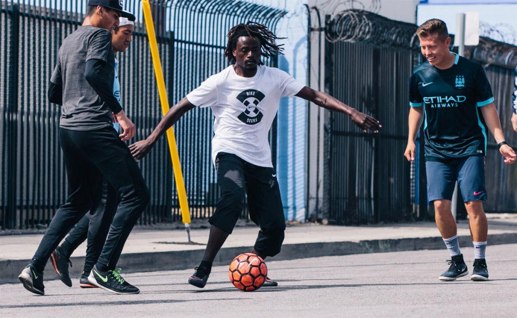 Los Angeles street soccer