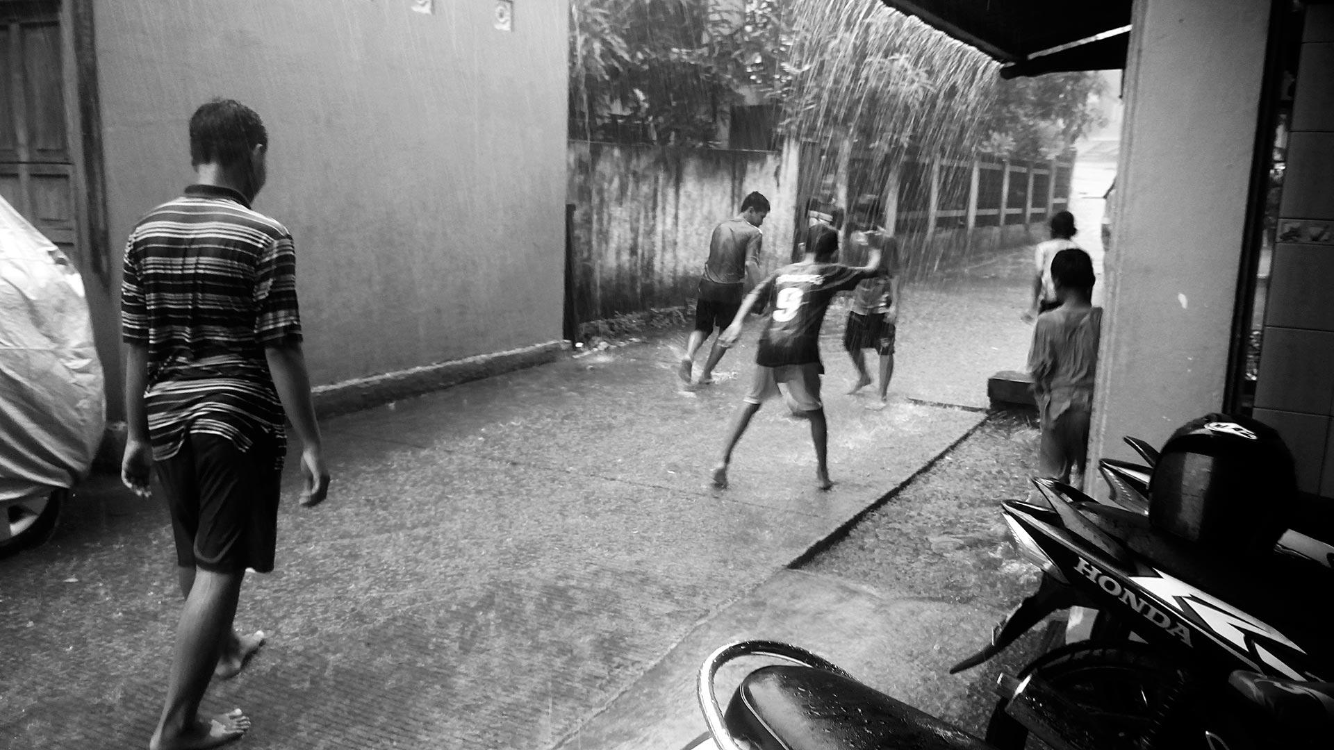 Indonesia street football