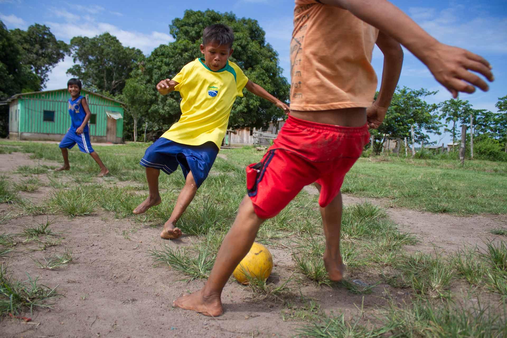 Amazon street football
