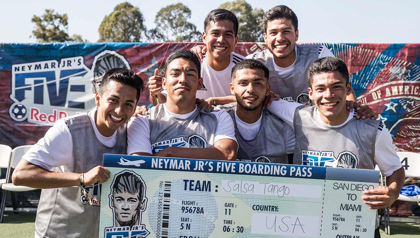Red Bull Neymar Jr's Five San Diego