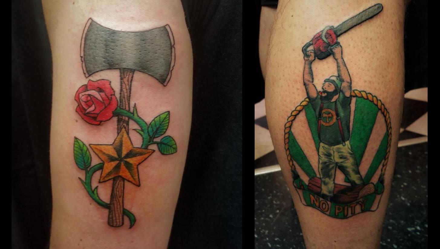 Portland Timbers Tattoos