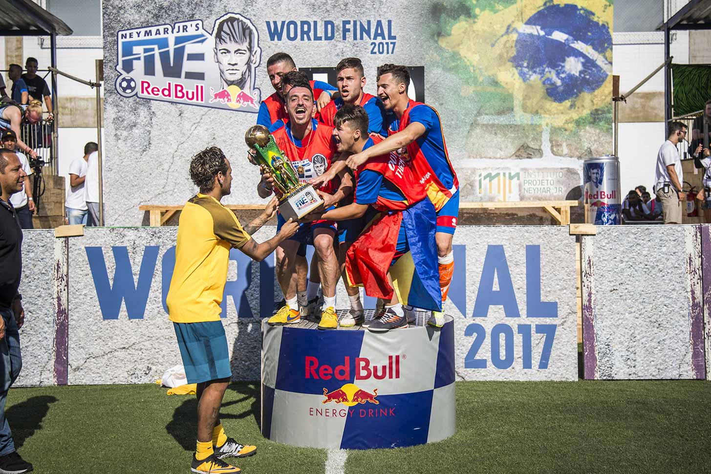 Neymar Jr's Five World Final Brazil