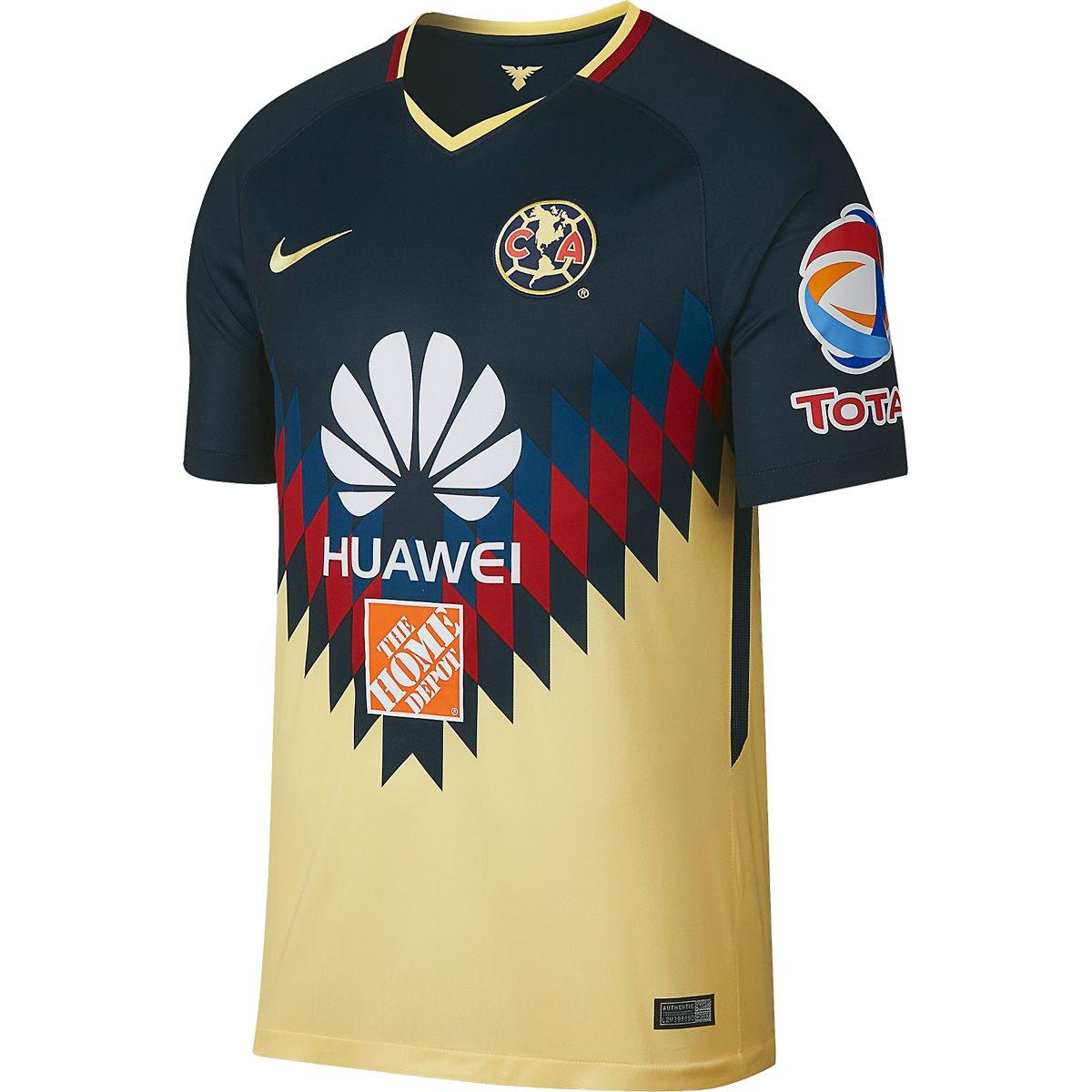 Club America Home Kit 17-18