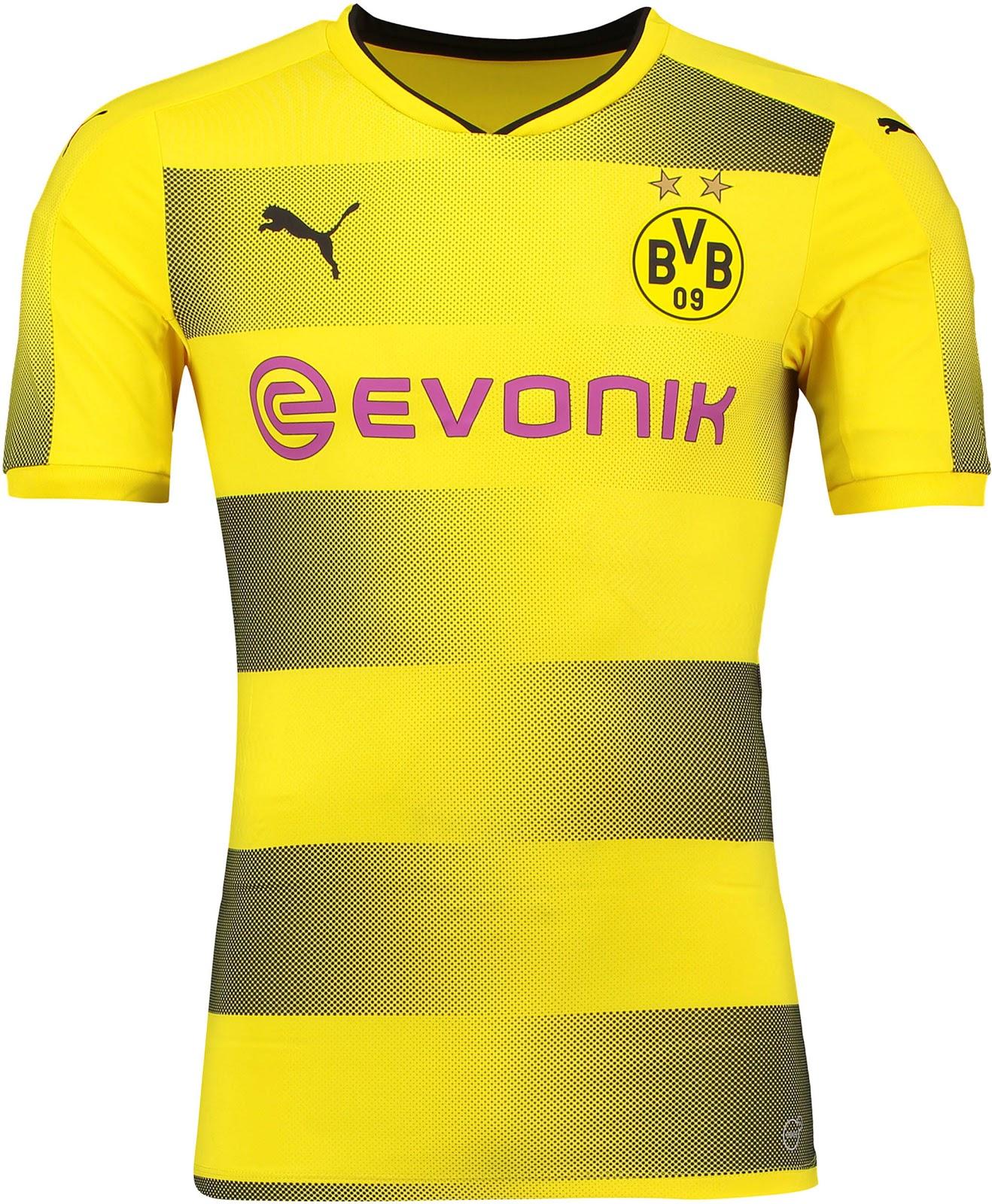 Borussia Dortmund Home Kit 17-18