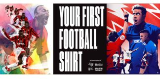your first football shirt