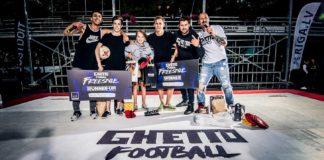 ghetto football freestyle 2018