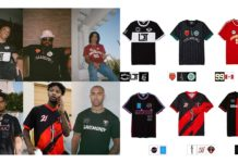 hip hop football kits