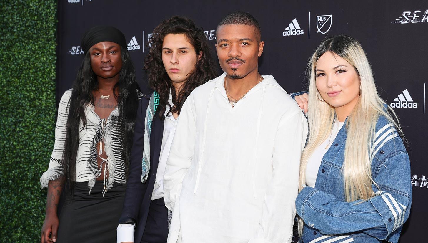 adidas seams fashion show