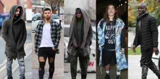 footballer outfits