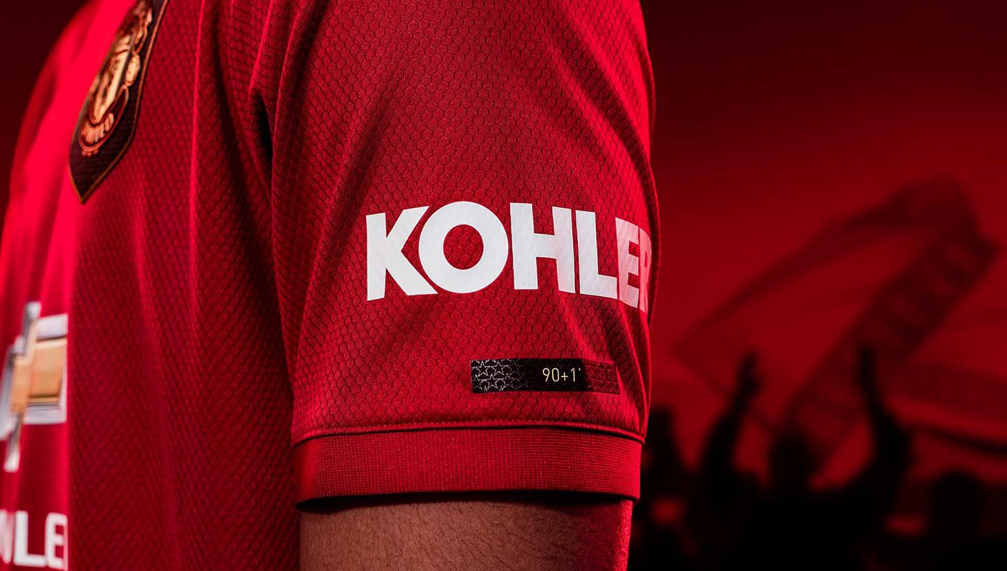 manchester united kohler kit sponsor