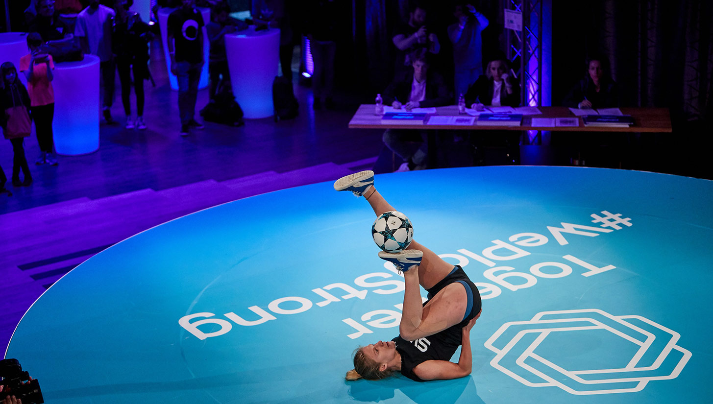 womens european freestyle football championships
