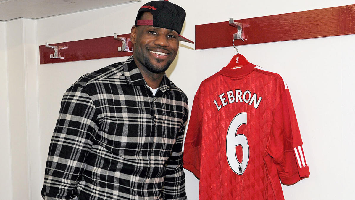 lebron james liverpool