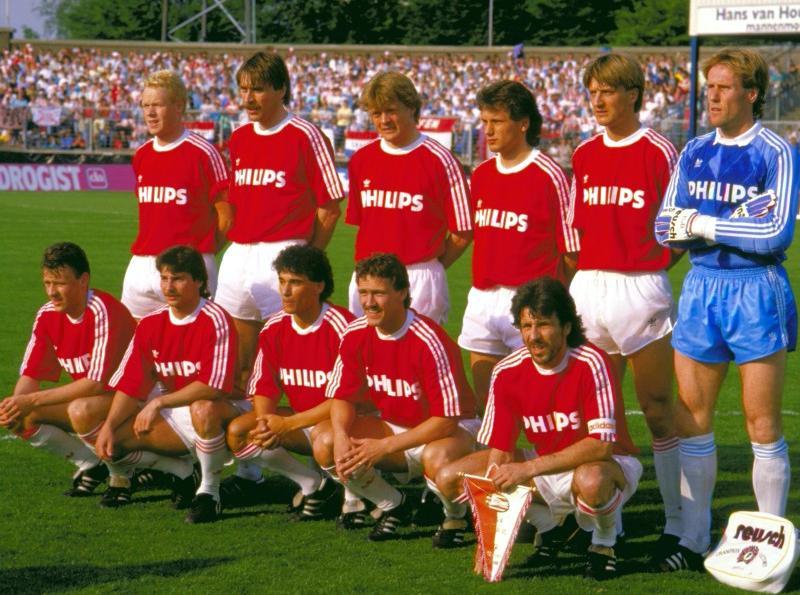 1986-89 psv home kit