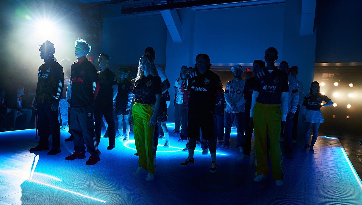mls adidas fashion show