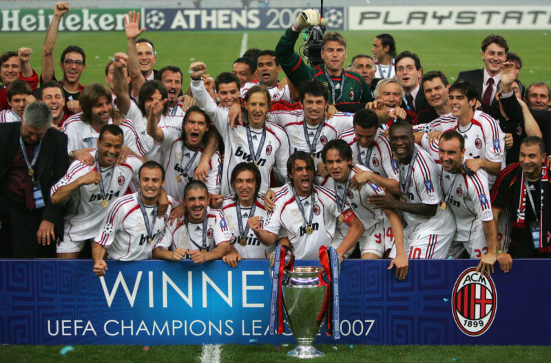 ac milan uefa champions league 2007
