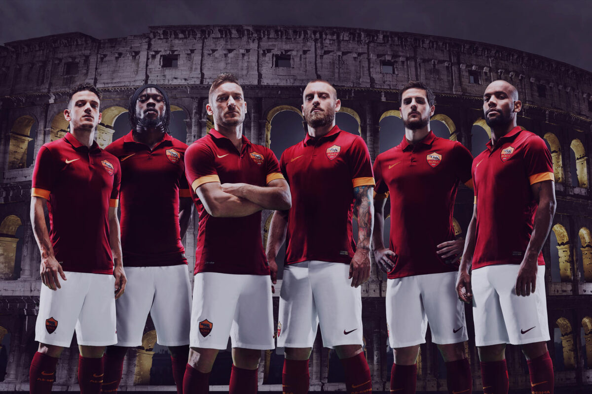 as roma 2014-15 home kit