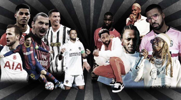 footballers rappers