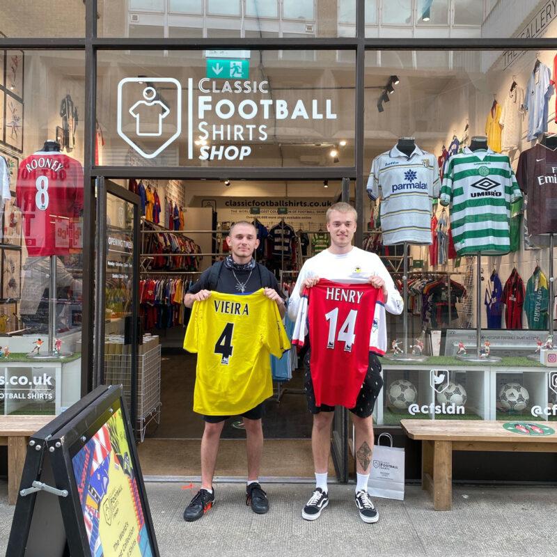 classic football shirts store
