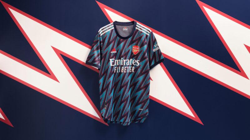 arsenal third kit 2021
