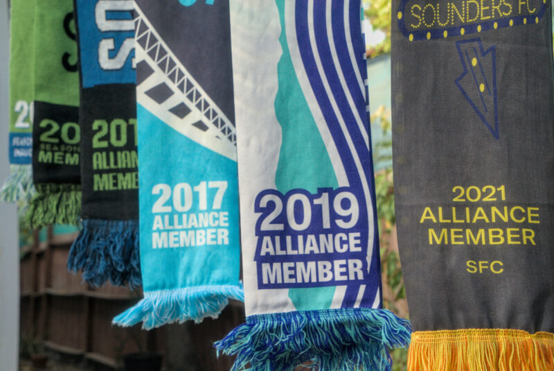 seattle sounders scarves