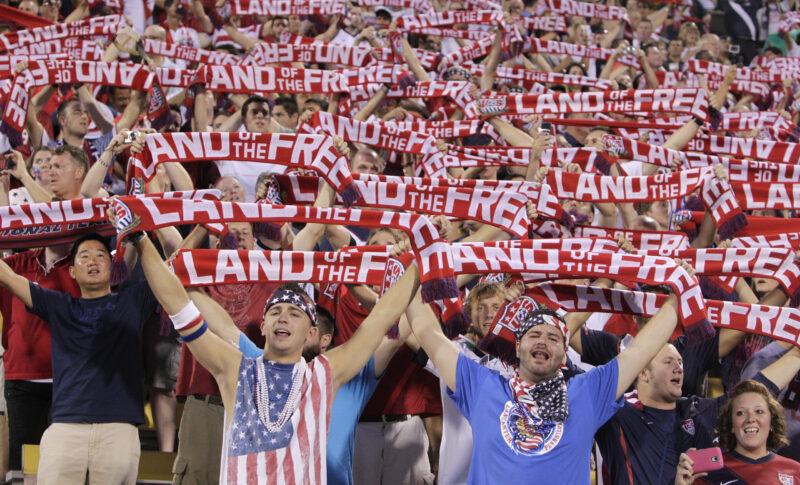 us soccer scarves